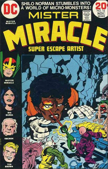 Mister Miracle (1971) 16-A by DC