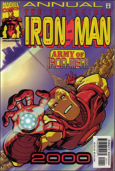 Iron Man Annual (1970) 2000-A by Marvel