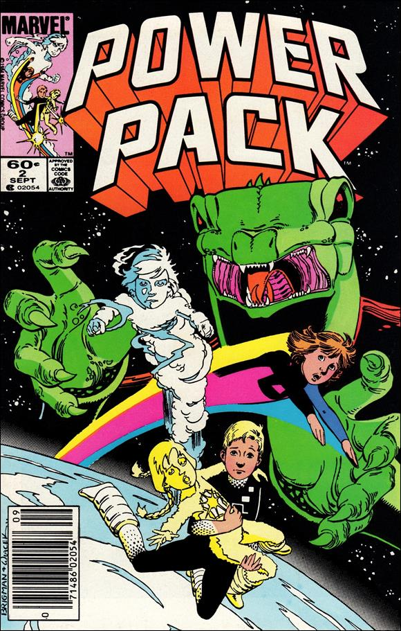 Power Pack (1984) 2-A by Marvel