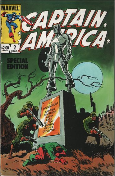 Captain America Special Edition 2-A by Marvel