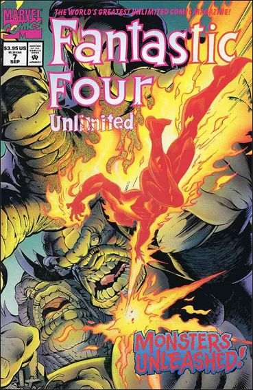 Fantastic Four Unlimited 7-A by Marvel