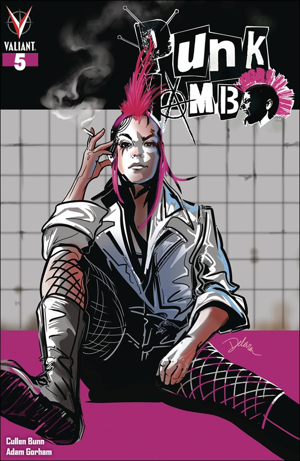 Punk Mambo (2019) 5-C by Valiant Entertainment