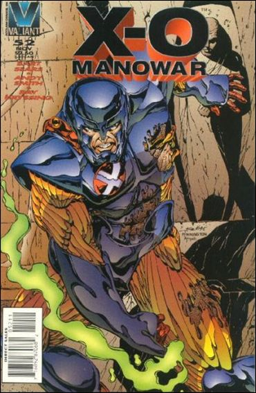 X-O Manowar (1992) 52-A by Valiant