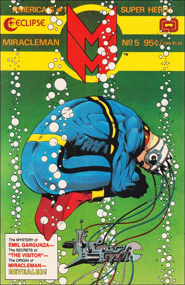 Miracleman (1985) 5-A by Eclipse