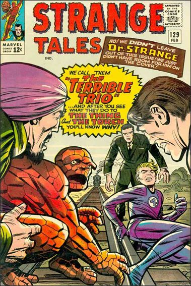 Strange Tales (1951) 129-A by Marvel