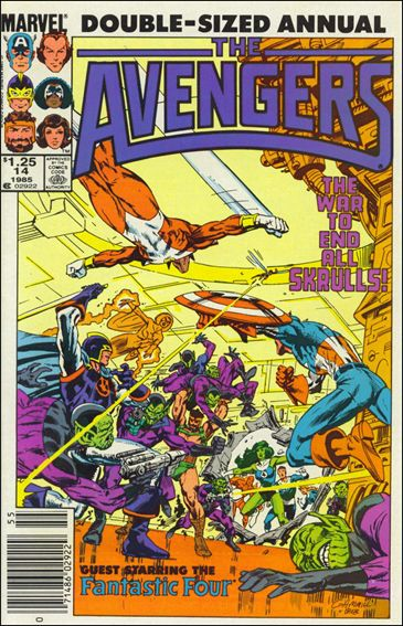 Avengers Annual 14-A by Marvel