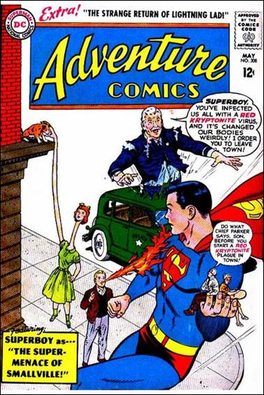 Adventure Comics (1938) 308-A by DC