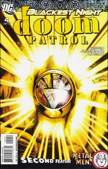 Doom Patrol (2009) 4-B by DC
