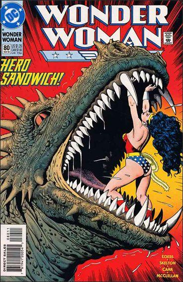Wonder Woman (1987) 80-A by DC