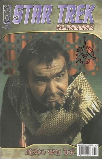 Star Trek: Klingons: Blood Will Tell 1-F by IDW