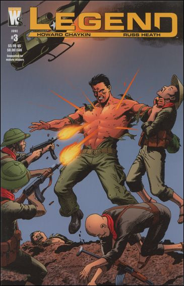 Legend (2005) 3-A by WildStorm