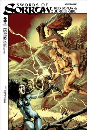 Swords of Sorrow: Red Sonja & Jungle Girl 3-A