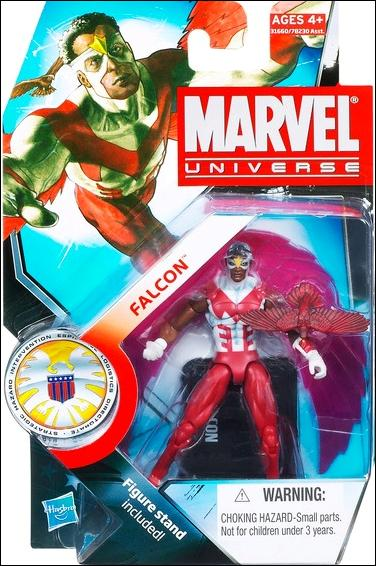 Marvel Universe (Series 3) Falcon with Redwing by Hasbro