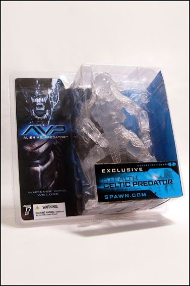 Alien vs Predator (Series 1) Stealth Celtic Predator (Collectors Club Exclusive by McFarlane Toys