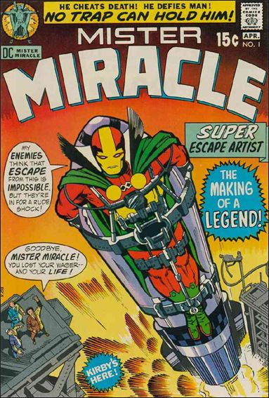 Mister Miracle (1971) 1-A by DC