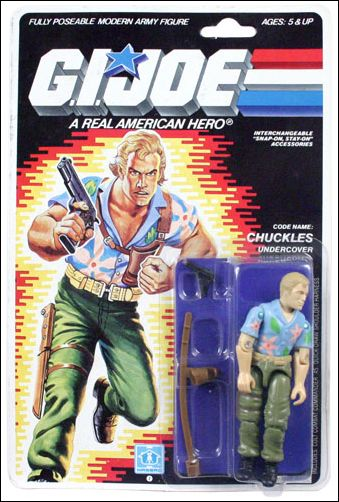 "G.I. Joe: A Real American Hero 3 3/4"" Basic Action Figures Chuckles (Undercover) by Hasbro"
