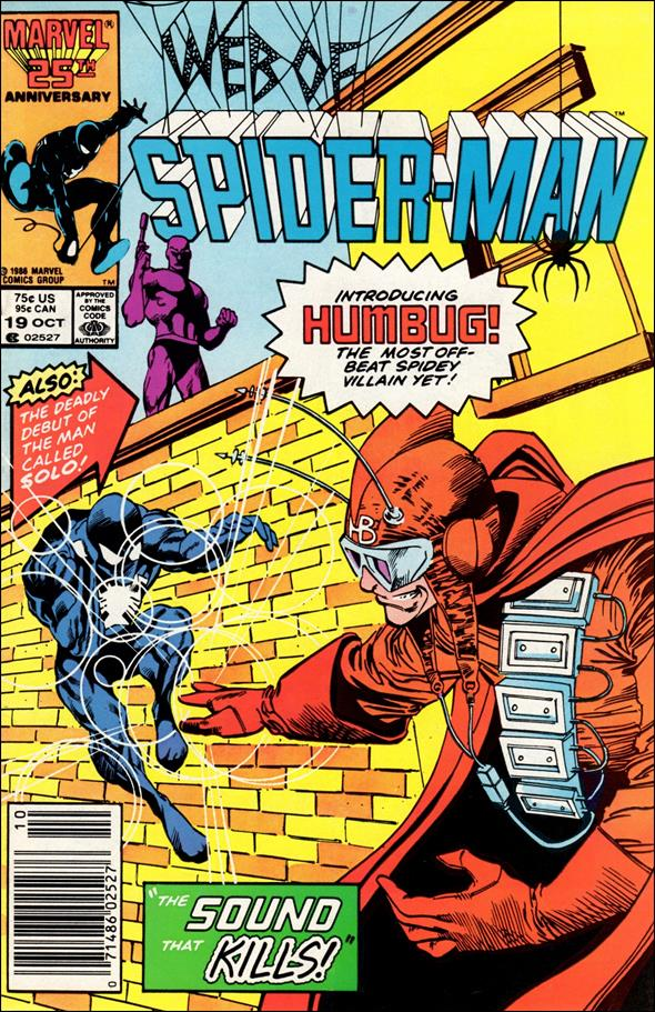 Web of Spider-Man (1985) 19-A by Marvel