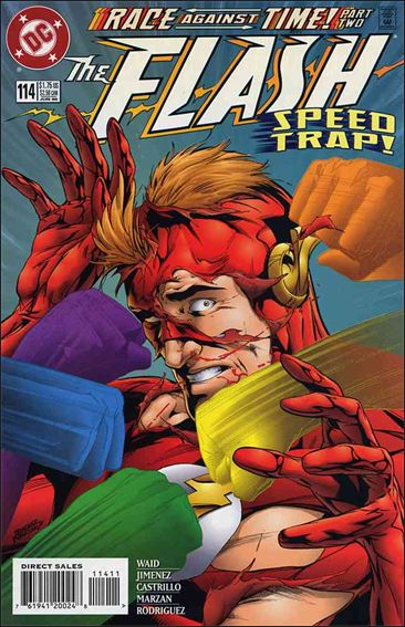 Flash (1987) 114-A by DC