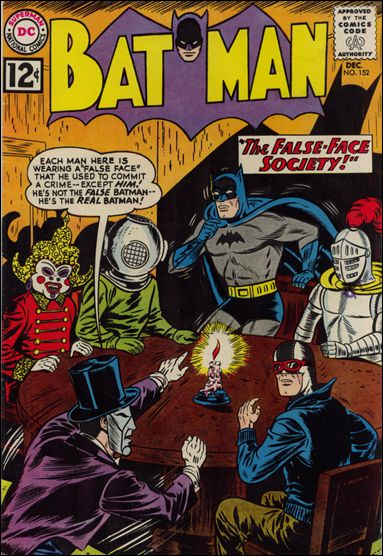 Batman (1940) 152-A by DC