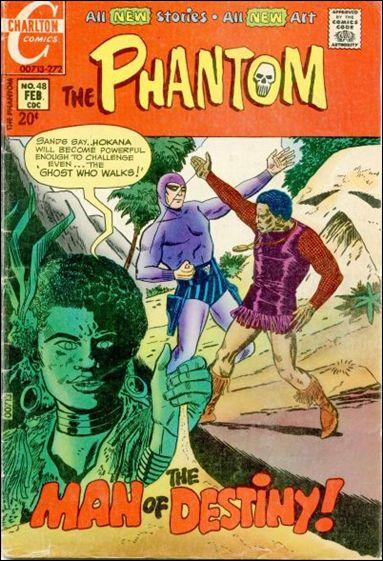 Phantom (1962) 48-A by Gold Key