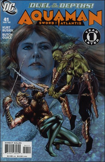 Aquaman: Sword of Atlantis 41-A by DC