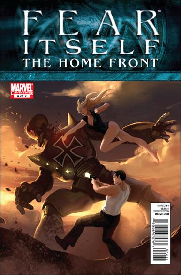 Fear Itself: The Home Front 4-A by Marvel