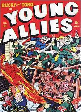 Young Allies Comics 11-A by Marvel