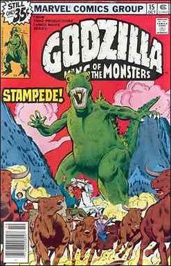 Godzilla (1977) 15-A by Marvel