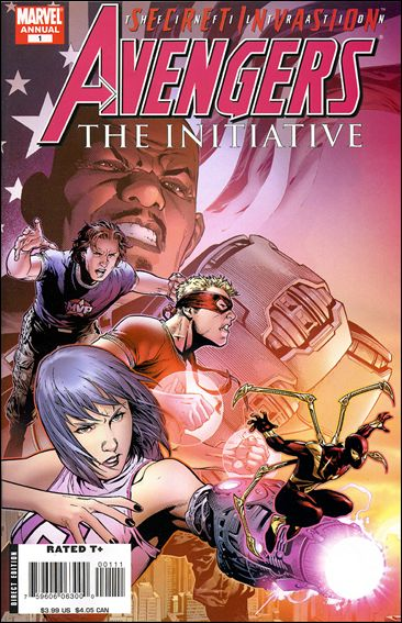 Avengers: The Initiative Annual 1-A by Marvel