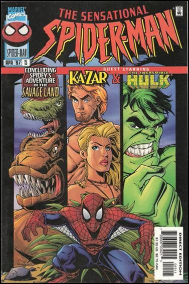 Sensational Spider-Man (1996) 15-A by Marvel