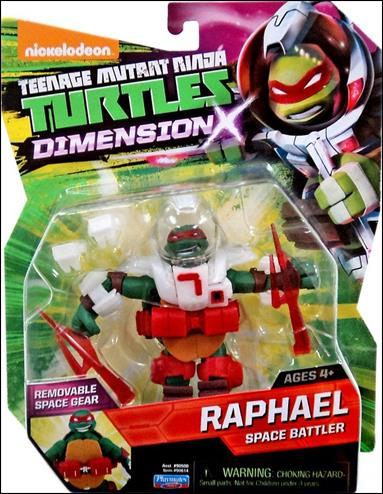 Teenage Mutant Ninja Turtles Raphael Dimension X Jan 2015
