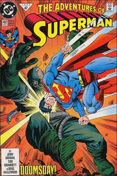 Adventures of Superman (1987) 497-A by DC