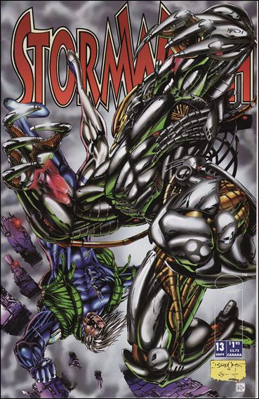 StormWatch (1993) 13-A by Image