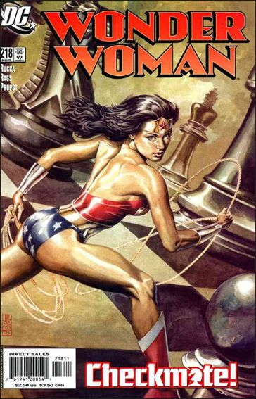 Wonder Woman (1987) 218-A by DC