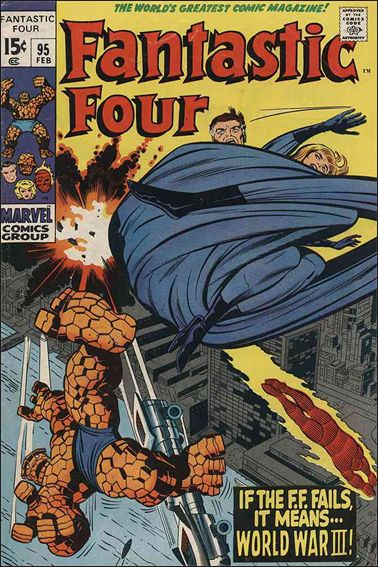 Fantastic Four (1961) 95-A by Marvel