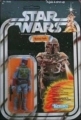 "Star Wars 3 3/4"" Basic Action Figures (Vintage) Boba Fett (SW 21 Back) by Kenner"
