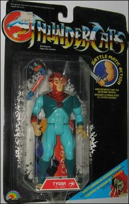 Thundercats Tygra on Thundercats Tygra  Young   Jan 1985 Action Figure By Ljn