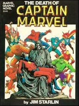 Marvel Graphic Novel 1-D