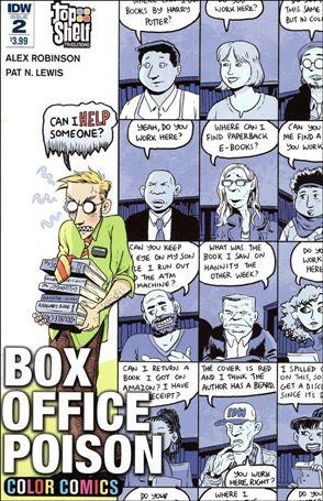 Box Office Poison Color Comics 2-A