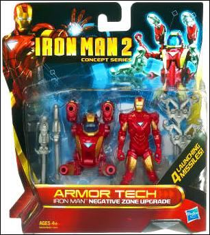 Iron Man 2 (Armor Tech) Iron Man - Negative Zone Upgrade (Concept Series)