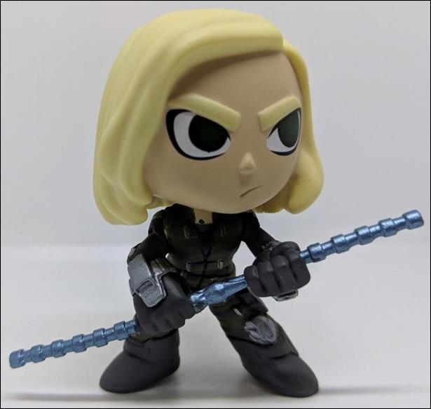 Avengers Infinity War Mystery Minis Black Widow (Target Exclusive)  1:36 by Funko