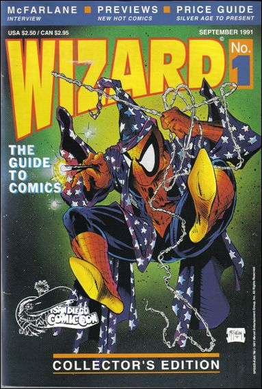 Wizard: The Guide to Comics 1-B by Wizard Press