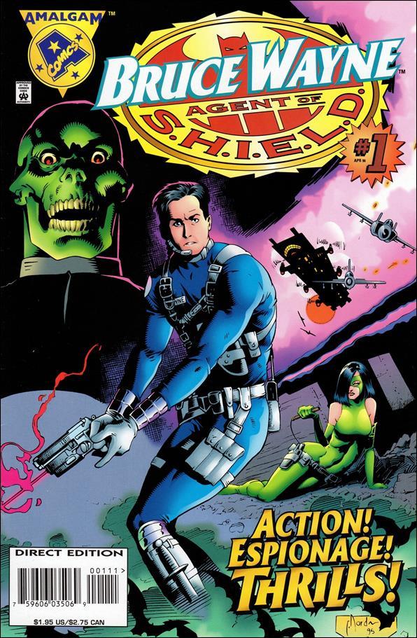 Bruce Wayne: Agent of S.H.I.E.L.D. 1-A by Amalgam