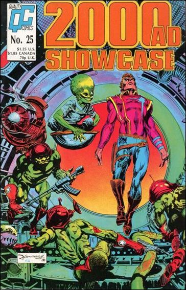 2000 A.D. Showcase (1988) 25-A by Quality Comics