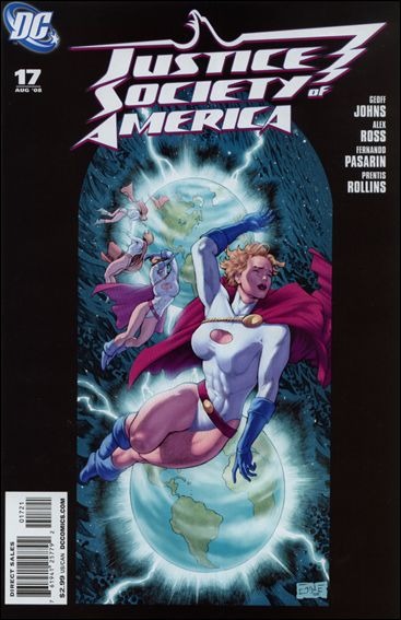 Justice Society of America (2007) 17-B by DC