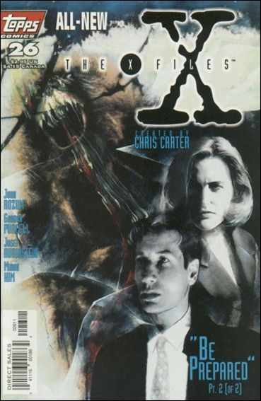 X-Files (1995) 26-A by Topps