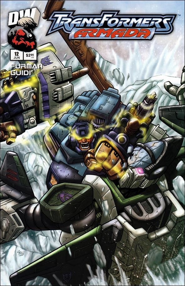 Transformers: Armada (2002) 12-A by Dreamwave