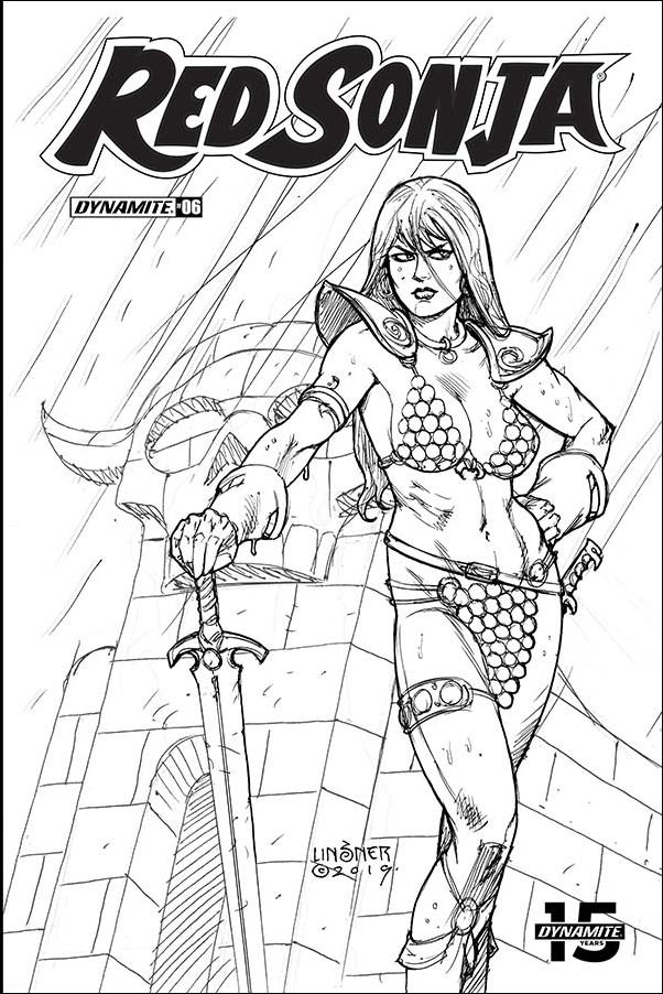 Red Sonja (2019) 7-K by Dynamite Entertainment