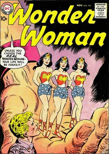 Wonder Woman (1942) 102-A by DC
