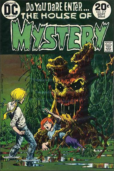 House of Mystery (1951) 217-A by DC